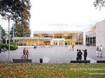 Presentationsbild för referensen Kulturhuset, etapp 2