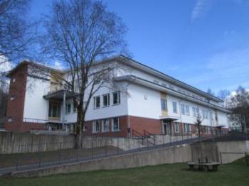 Presentationsbild för referensen Bergdalsskolan, Hus A & B